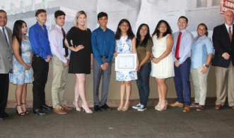 Chamber honors top graduates